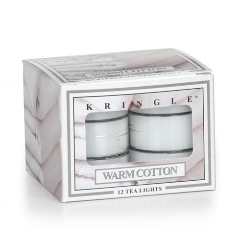 Warm Cotton 12 Scented Tea Lights