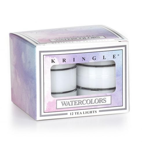 Kringle Watercolors 12 Scented Tea Lights