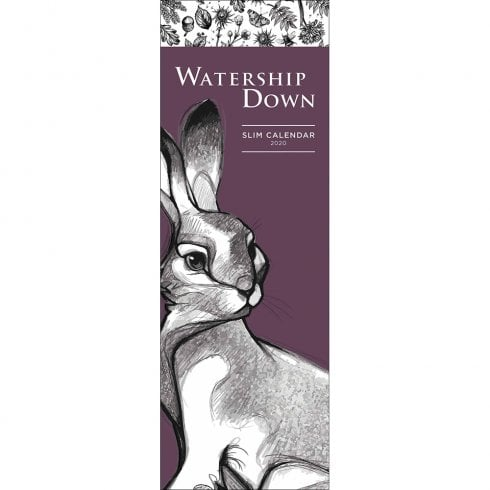 Otter House Watership Down 2020 Slim Calendar