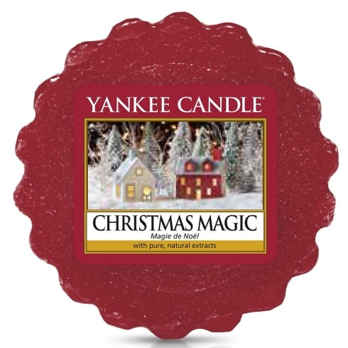 Yankee Candle Wax Tart Melt Christmas Magic