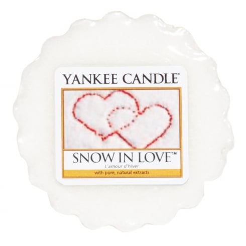 Yankee Candle Wax Tart Melt Snow In Love