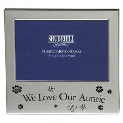 We Love Our Auntie Photo Frame 5 x 3