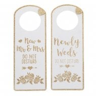 Wedded Bliss Door Hanger