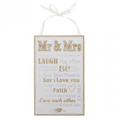 Wedded Bliss Rules Plaque