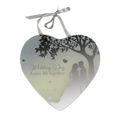 Wedding Day Mirror Plaque