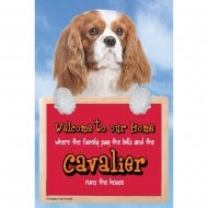 Welcome 3D Hang-Up Cavalier Blenheim