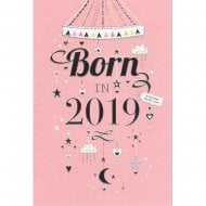 Welcome Little One Born In 2019 Baby Mobile Pink Girl Card