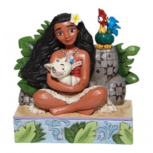 Disney Traditions Welcome to Motunui Moana Figurine