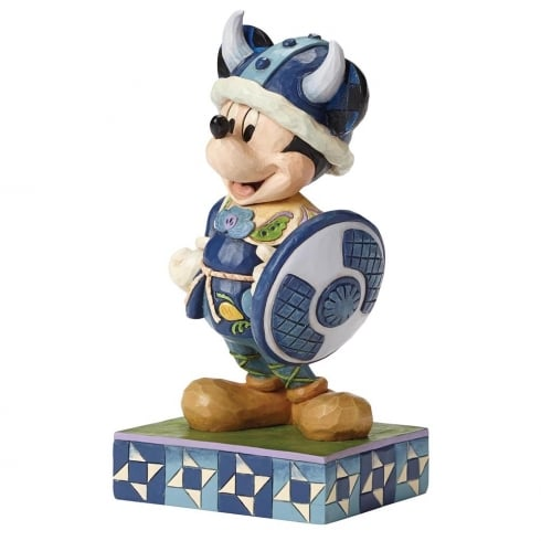 Disney Traditions Welcome to Norway Mickey Mouse Figurine