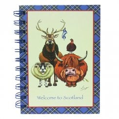 Welcome To Scotland Notebook