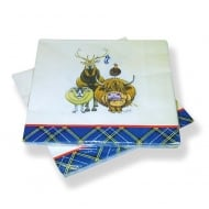 Welcome To Scotland Paper Napkins