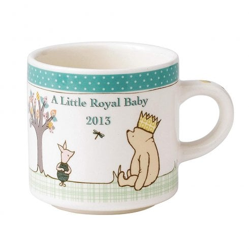 Classic Pooh Welcoming A Little Royal Baby Ceramic Mug
