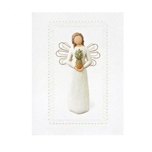 Willow Tree Welcoming Angel Greeting Card