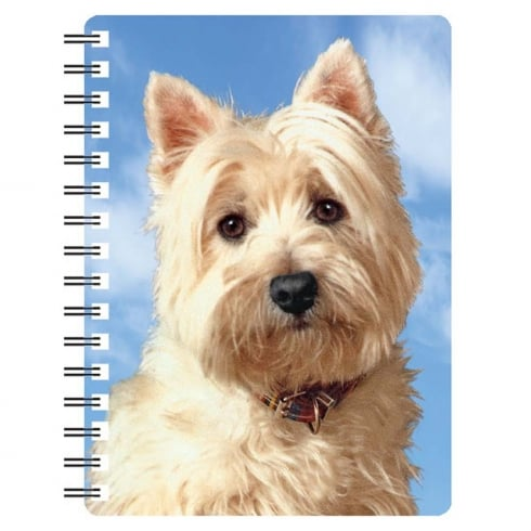 Faithful Friends Collectables West Highland Terrier 3D Notebook