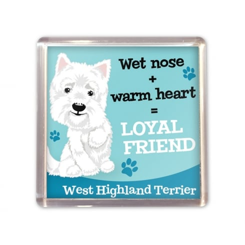 Wags & Whiskers West Highland Terrier Magnet