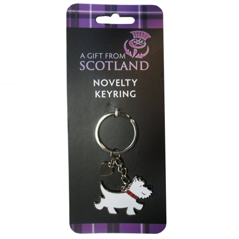 Thistle Products Ltd Westie Keyring