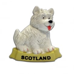 Westie Musical Magnet