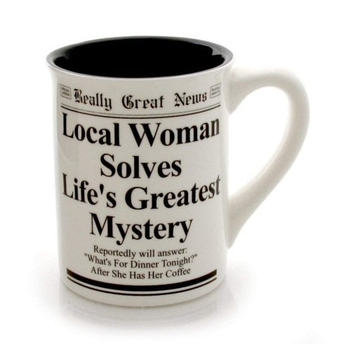 Really Great News Whats For Dinner Mug