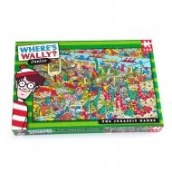 Where's Wally Junior Kids Jurassic Games 100 Piece Jigsaw Puzzle