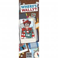 Wheres Wally 2020 Slim Calendar