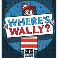 Wheres Wally Easel Calendar 2019