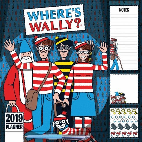 Wheres Wally Household Wall Planner 2019