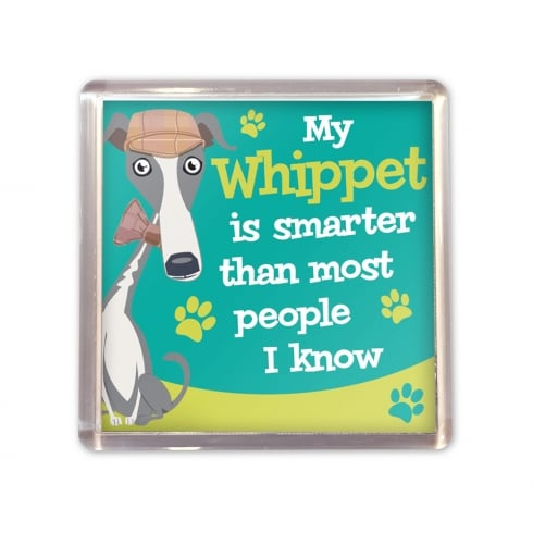 Wags & Whiskers Whippet Magnet