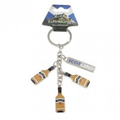 Whiskey Bottles Keyring