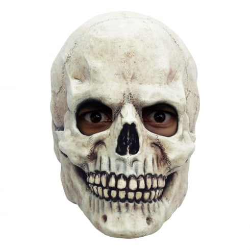 Fun World White Skull Overhead Mask