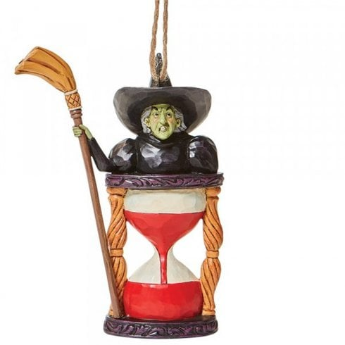 Jim Shore Heartwood Creek Wicked Witch Hourglass Wizard of Oz Hanging Ornament 6008314