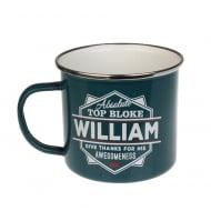 William Tin Mug 88