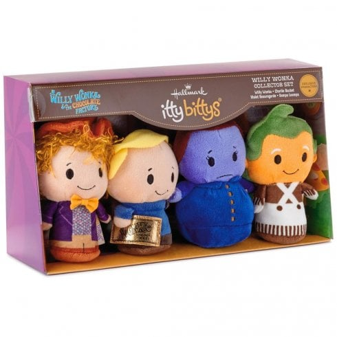 Hallmark Itty Bittys Willy Wonka Collector Set of 4 US Edition