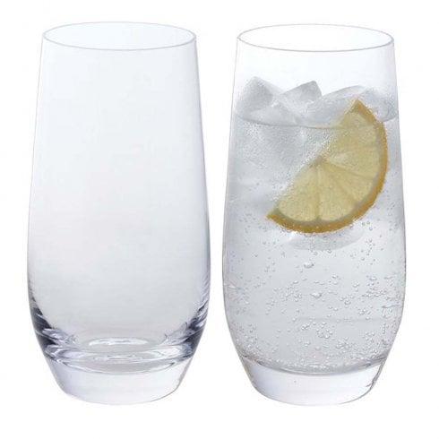 Dartington Crystal Wine and Bar Highball Pair