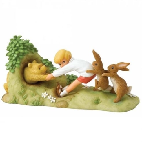 Border Fine Arts Winnie the Pooh 90th Anniversary Figurine