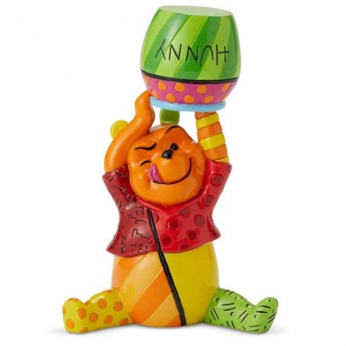 Disney By Britto Winnie the Pooh and Honey Mini Figurine
