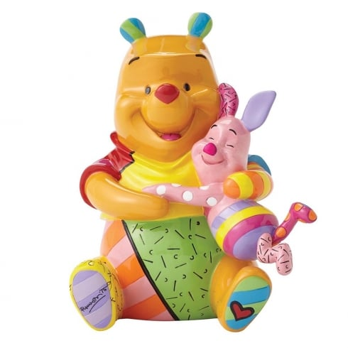 Disney By Britto Winnie the Pooh and Piglet Figurine