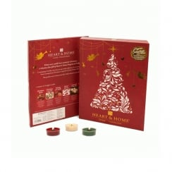 Winter Fragrance Tealight Candle Selection Box