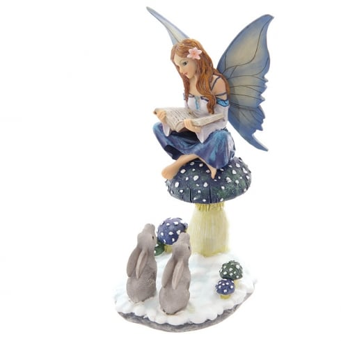 Puckator Winter Storyteller Fairy Figurine