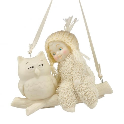 Snowbabies Wise Advice Hanging Ornament