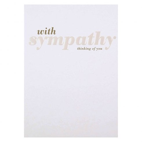Hallmark With Sympathy Thinking Of You Card 11354921