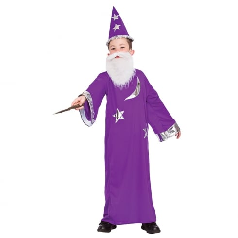 Wicked Costumes Wizard (8-10) Large