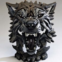 Wolf Bust Timber