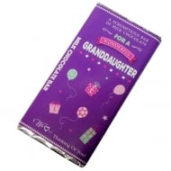 Wonderful Granddaughter Milk Chocolate Bar