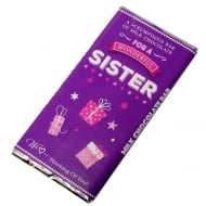 Wonderful Sister Milk Chocolate Bar