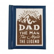 Woodcut Book Dad