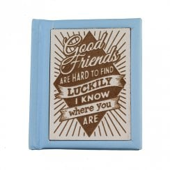 Woodcut Book Good Friends