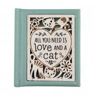 Woodcut Book Love And A Cat