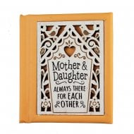 Woodcut Book Mother and Daughter