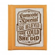 Woodcut Book Someone Special