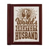 Woodcut Book Worlds Greatest Husband